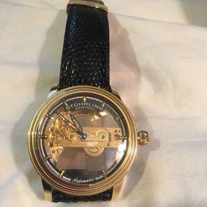 Stuhrling Original Accessories - Stuhrling men's watch. Cal St. 91801
